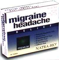 Migraine Headache Relief-safe for regular use
