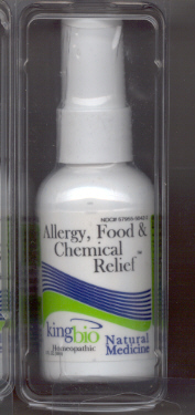 Click for details about Allergy Food and Chemical Relief 2 oz spray