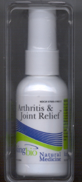 Click for details about Arthritis and Joint Relief  2 oz spray