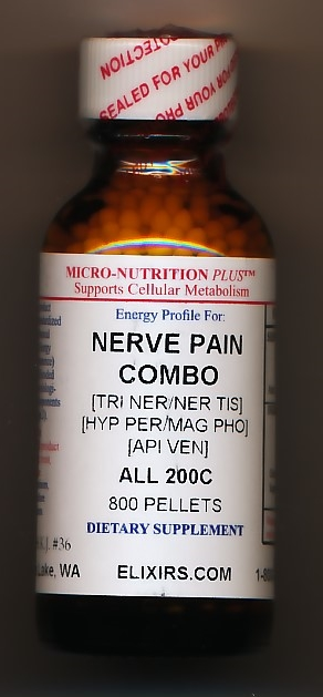 Click for details about *Pain topical relief Nerve Pain Combo 30C 1 oz spray