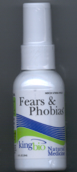 Click for details about Fears and Phobias 2 oz spray