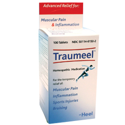 Click for details about Traumeel by BHI/Heel 100 tablets