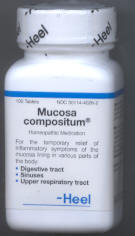 Click for details about Mucosa Compositum 100 Tablets