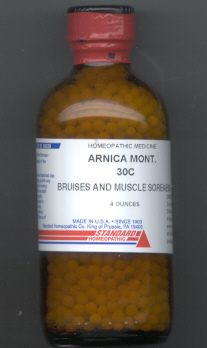 Click for details about Arnica 30C 4 oz bottle with 2,720 pellets