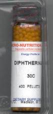 Click for details about Diptherinum Diphtherinum  30C 400 pellets