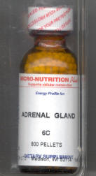 Click for details about Adrenal Gland 6X 1 oz pellets