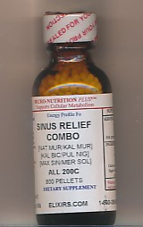 Click for details about Sinus Relief Combo 200C economy 1 oz 800 pellets NEW