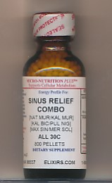 Click for details about Sinus Relief Combo 30C economy 1 oz 800 pellets NEW