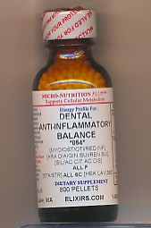 Click for details about Dental Anti-Inflammatory Balance 1 oz with 800 pellets