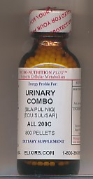 Click for details about Urinary Combo NEW 200C potency 1 oz with 800 pellets