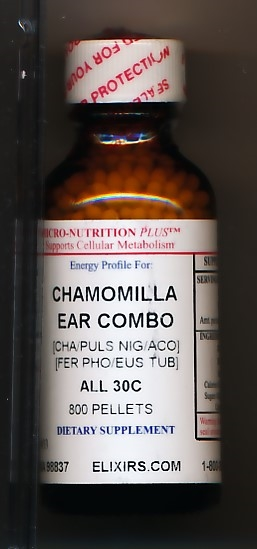 Click for details about Chamomilla Ear Combo 30C 1 oz pellets
