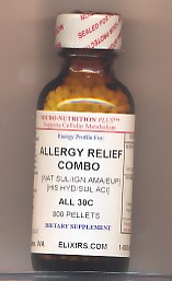 Click for details about Allergy Relief Combo 30C 1 oz pellets