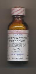 Click for details about Anxiety Stress Relief Combo 30C 1 oz pellets