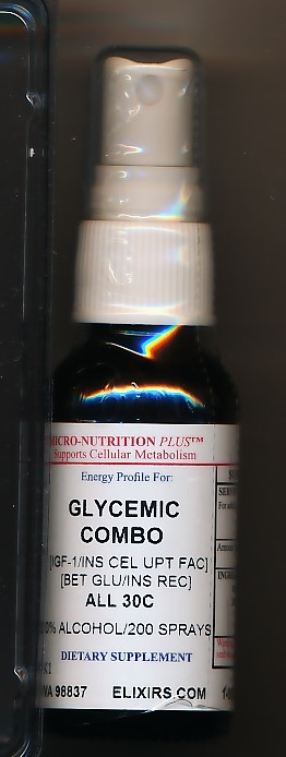 Click for details about Glycemic Combo 30C 1 oz spray 20% SALE