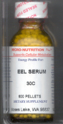 Click for details about Eel Serum 30C 1 oz with 800 pellets