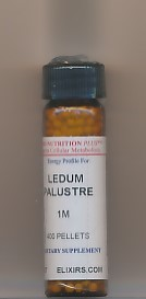 Click for details about Ledum 1M 400 pellets