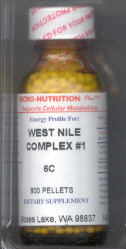 Click for details about West Nile Virus #1 Complex 1 oz with 800 pellets