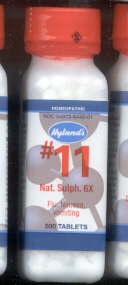 Click for details about Natrum Sulphur #11 6X  500 tablets 10% off SALE!