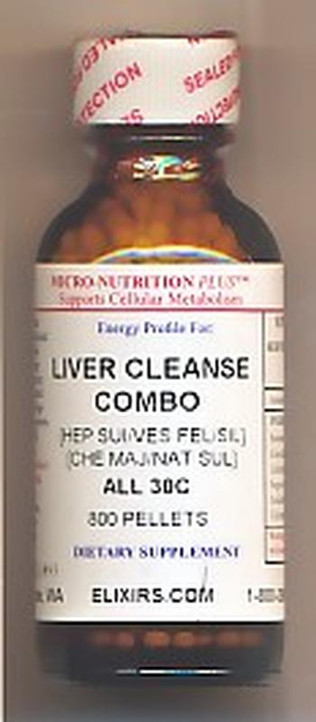 Click for details about Liver Cleanse Combo 30C economy 800 pellets NEW! Intro Sale
