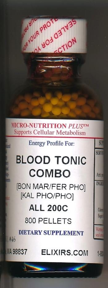 Click for details about Blood Tonic Combo 200C economy 1 oz 800 pellets